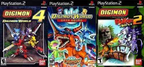 Digimon World Collection Ps2 Juego Playstation 2 (3 Discos)