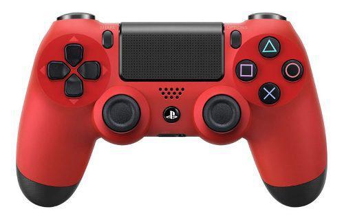 Joystick Ps4 Sony Inalambrico Original Dualshock 4 V2 Rojo
