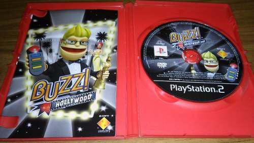 Juego Original Para Playstation 2 Buzz! Hollywood (ps2)
