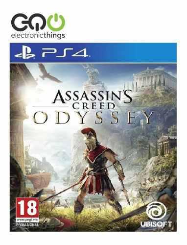 Juego Ps4 Assassins Creed Odyssey Nuevo Fisico Sellado