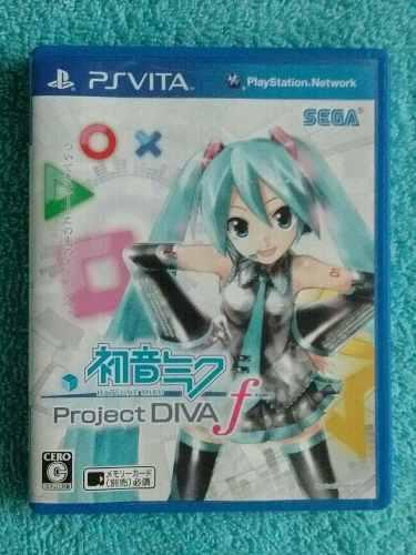 Juegos Ps Vita Hatsune Miku Project Diva F Fisico Japones