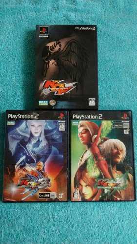Juegos Ps2 The King Of Fighters Maximum Impact 1, 2 Y 3 Jp