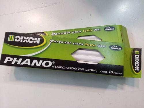 Lapices De Cera Dermografico Dixon Phano Rojo Verde Amarillo