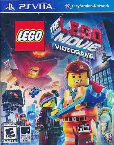 Lego The Movie Video Game Fisico Nuevo Ps Vita