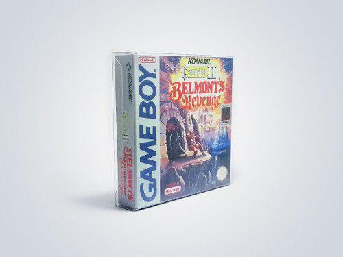 Protectores Nintendo Game Boy Color Advance Juegos Pack X 10