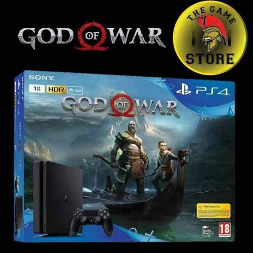 Ps4 Slim De 1 Tb God Of War