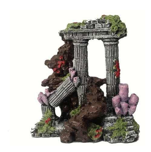 Ruina Griega Decoracion Para Pecera Acuario. Mediana