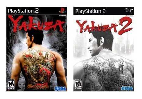 Yakuza Collection Ps2 Juego Playstation 2