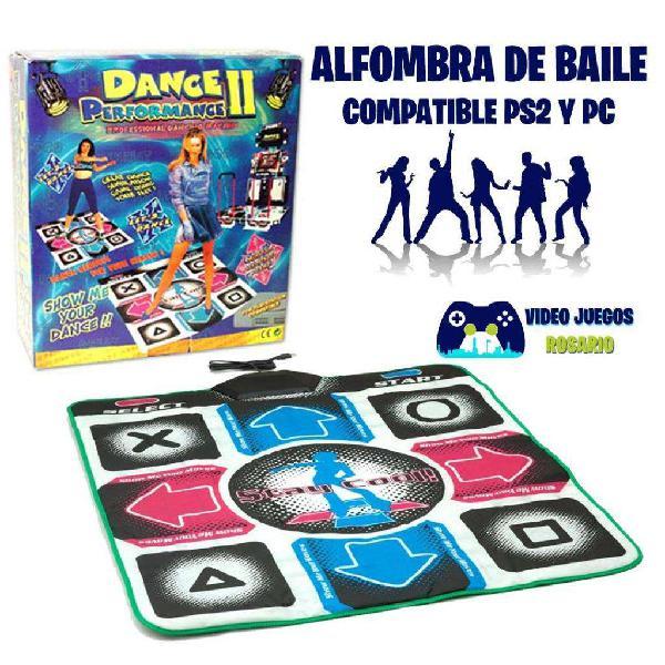 Alfombra de Baile Compatible Ps2 y Pc NUEVA!!! OFERTA!!!