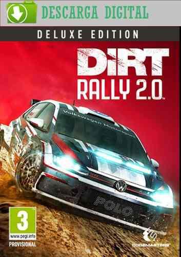 Dirt Rally 2.0 Deluxe Edition - Juego Pc Digital - Estreno!