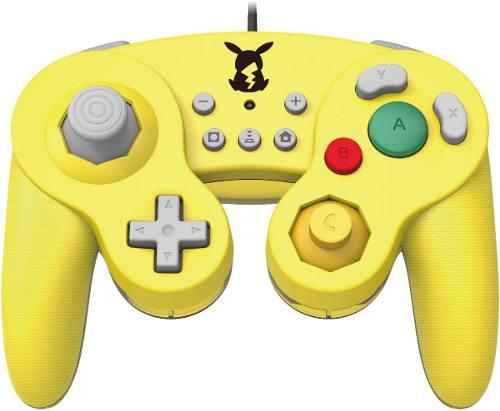 Joystick Battle Pad Gamecube Pikachu - Nintendo Switch