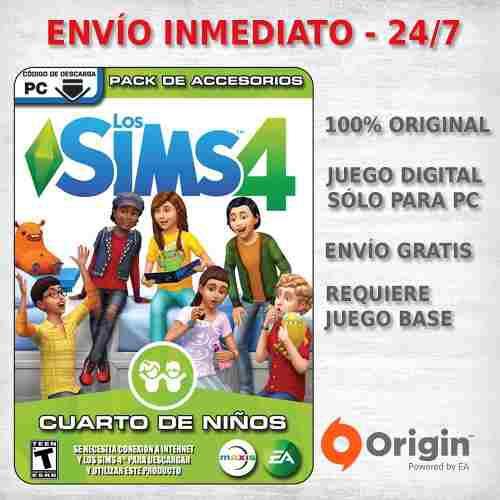Los Sims 4 Cuarto De Niños Expansion Juego Pc Original