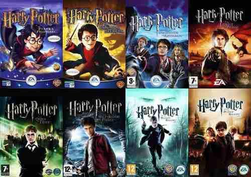 Saga Harry Potter (8 Juegos) Completa - Pc Digital Español