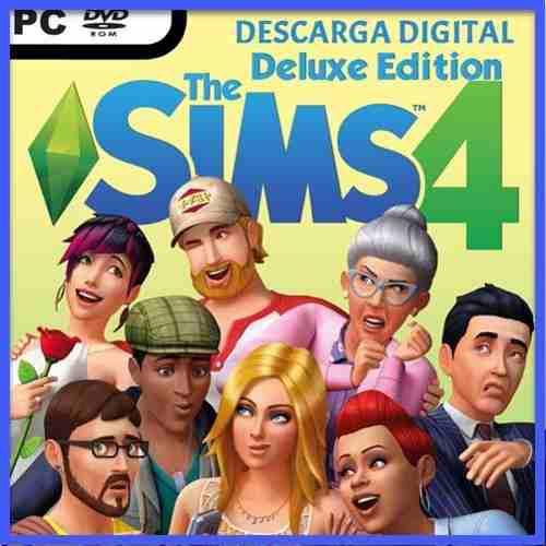 The Sims 4 Deluxe Pc + Soporte Online