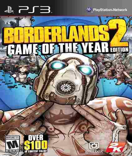 Borderlands 2 Ps3 Game Of The Year Edition + 6 Juegos