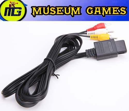 Cable Av Super Nintendo - Gamecube - Nintendo 64 - Local !!!