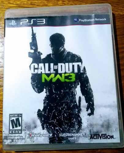 Call Of Duty Modern Warfare 3 Juego Fisico Para Ps3