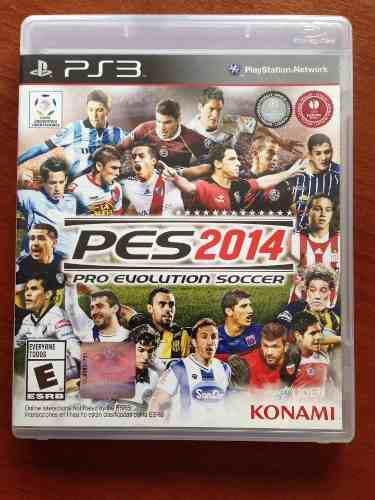 Juego Original Fisico Sony Playstation 3 Play 3 Ps3 Pes 2014