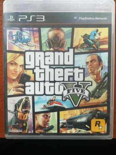 Juego Original Grand Theft Auto 5 Físico Play 3 Ps3
