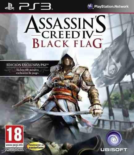 Juego Ps3 Assassins Creed 4 Black Flag Play Station Español