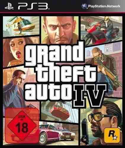 Juego Ps3 Grand Theft Auto 4 Play Station 3 Español En Caja