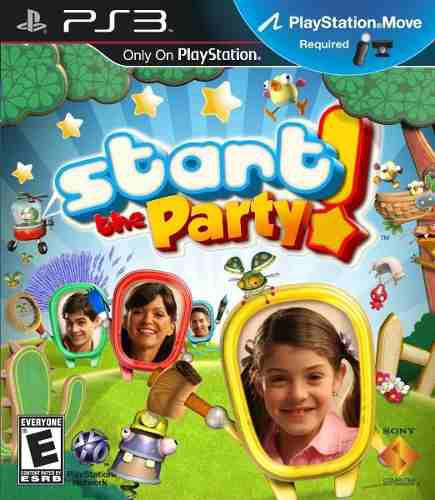 Juego Start The Party Play Station 3 Ps3 Move Español