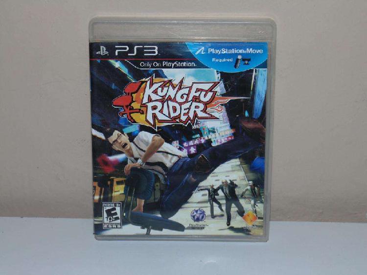 Kung fu rider Juego PS3 Play Station 3