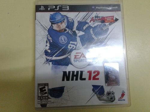 Nhl 12 Hockey Sobre Hielo Juego Fisico Para Ps3