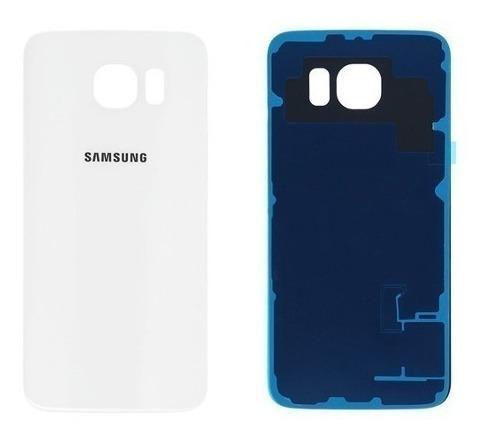 Tapa Trasera Samsung Galaxy S6 Flat G920 Blanca