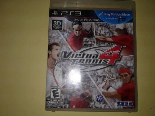 Virtua Tennis 4 Juego Fisico Para Ps3