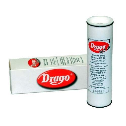 Filtro Original De Repuesto Para Purificador De Agua Drago