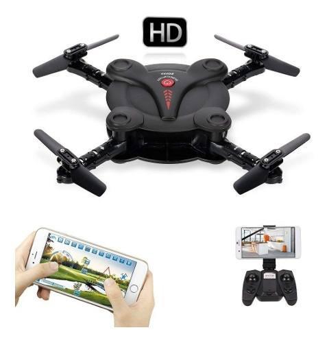 Mini Drone Cuadricoptero Camara 2mp Filma Hd Control Remoto