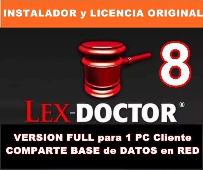Programa para Abogados Estudios juridicos Lex Doctor CHAVEZ