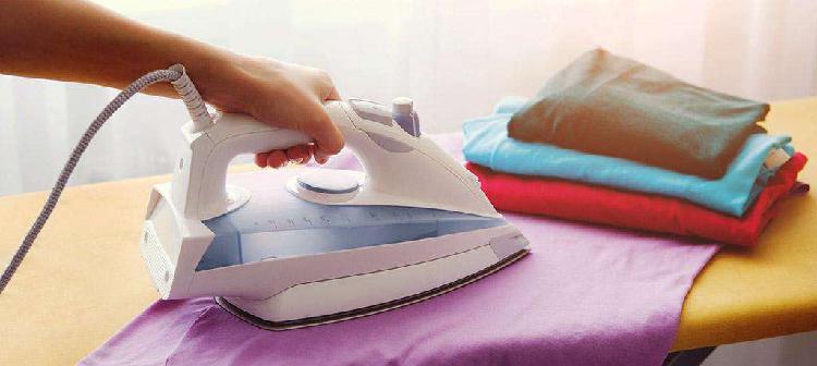 me ofrezco para lavar y planchar ropa