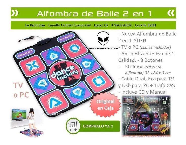 ALFOMBRA DE BAILE 2 EN 1