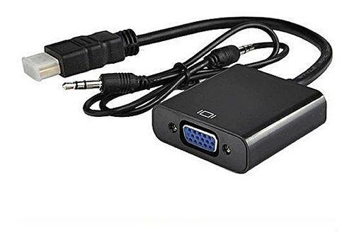 Cable Conversor Hdmi A Vga Video Ps3 1080p Con Audio Fact A