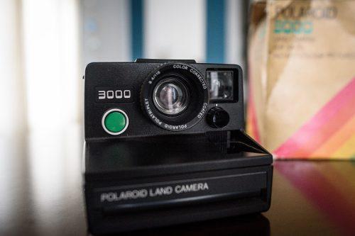 Cámara Polaroid 3000 Impecable, Poco Uso, Casi Nueva!
