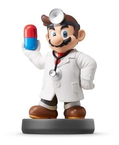Dr Mario Amiibo Original Para Nintendo Wii U / 3ds / Switch