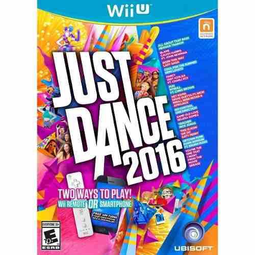 Juego Nintendo Wii U Just Dance 2016 Fisico Original