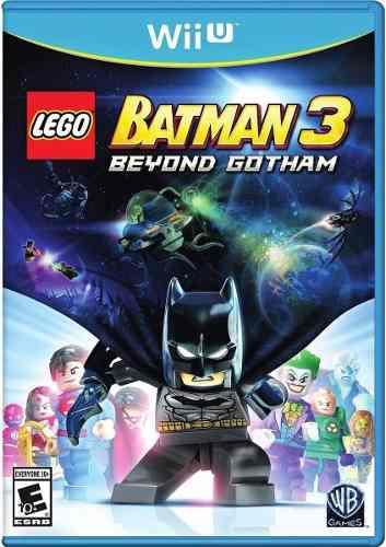 Lego Batman 3 Juego Nintendo Wii U Físico Original. La