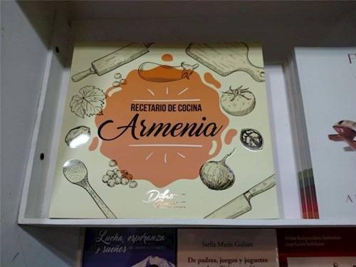 Libro Recetario De Cocina Armenia De Aa.vv