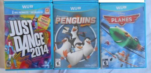 Lote De Juegos Wii U - Lote O Individual