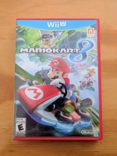Mario Kart 8 - Wii U - Impecable, Como Nuevo!