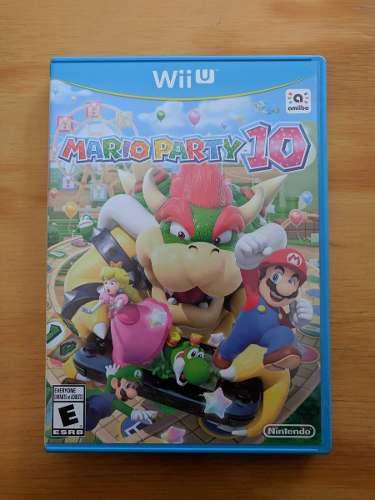 Mario Party 10 - Nintendo Wii U - Impecable!