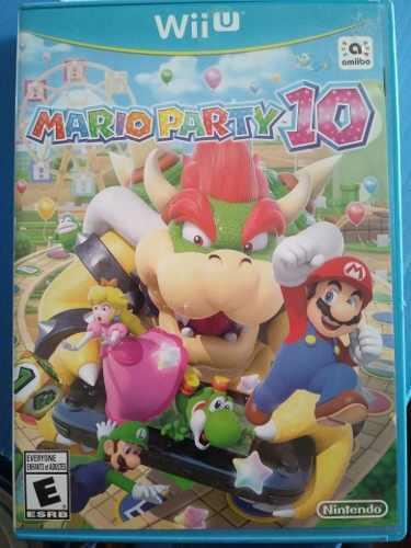 Mario Party 10 Para Nintendo Wii U - Original
