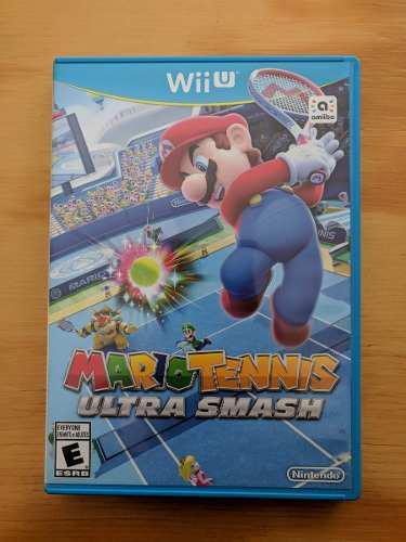 Mario Tennis Ultra Smash - Wii U - Impecable, Como Nuevo!
