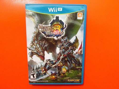 Monster Hunter 3 Ultimate Original Nintendo Wii U Ntsc