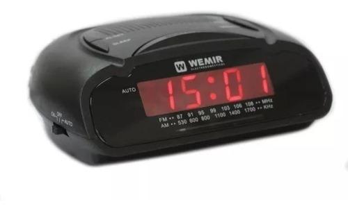 Radio Reloj Despertador Wemir 786 Radio Am-fm, Alarma 220v