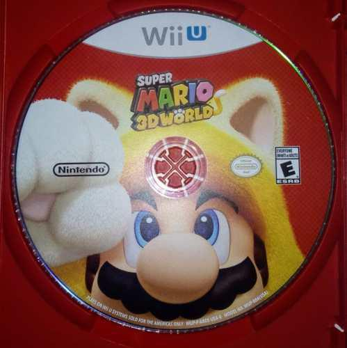Super Mario 3d World Nintendo Wii U Usado Físico