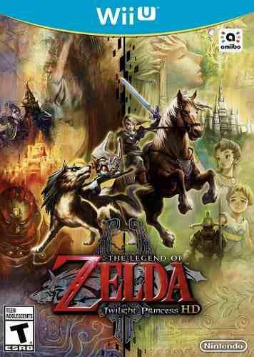 The Legend Of Zelda Twilight Princess Hd - En Caja Y Sellado